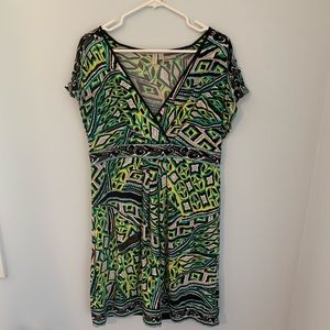 FIRM PRICE!! Madison size large v-neck dress